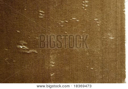 vintage, aged hard cover book paper texture as background.