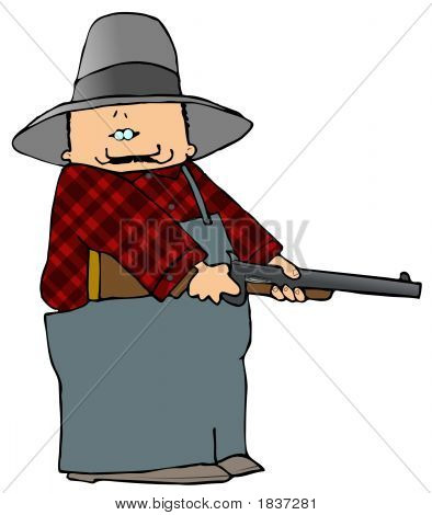 Farmer With A Shotgun