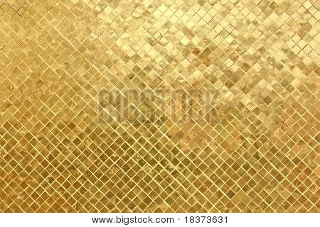 gold mosaic background