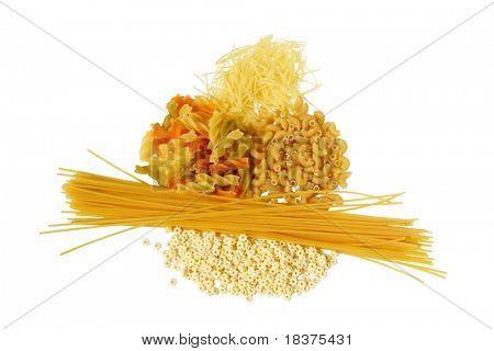 pasta short macaroni stars noodle