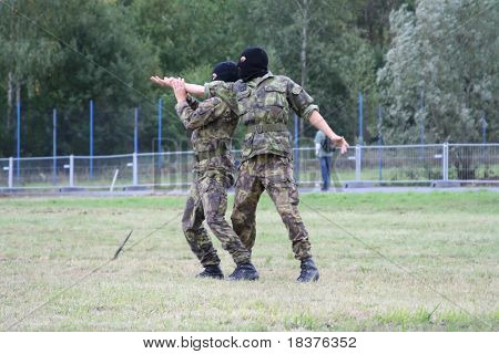 "Military training knife combat  ""Musado"" Czech army"