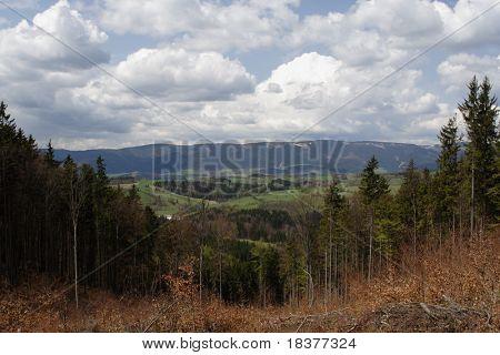 vista mountains by name Jesenik