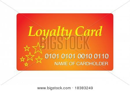 Loyalty Points reward card