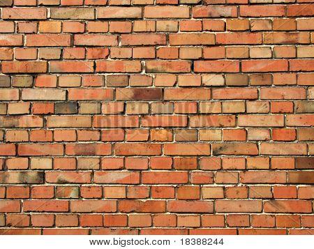 colored brick wall closeup. Texture.