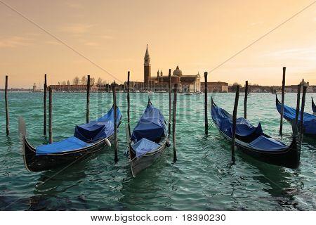 Kirche von San Giorgio Maggiore in Venedig, Italien.