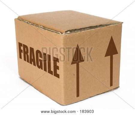 Cardboard  Box  Fragile Moving