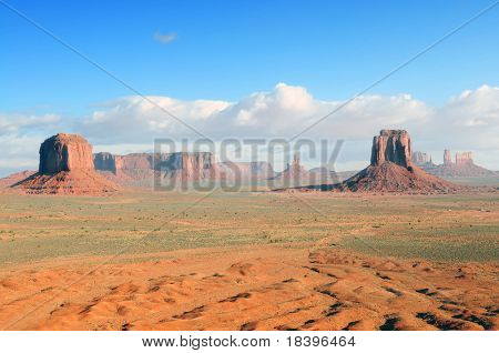 Monument Valley view from Artist's Point