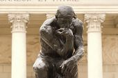 Rodin'S Thinker Close Up
