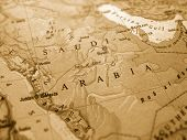 stock photo of land-mass  - Saudi Arabia - JPG