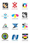 pic of dtp  - Several icons for use on a company emblem - JPG