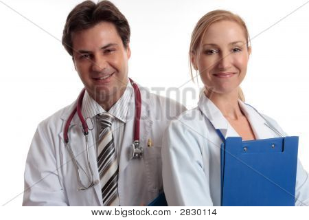 Happy Medical Staff