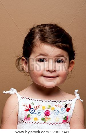 Happy Smiling Toddler Girl