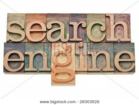 Search Engine - Internet Concept