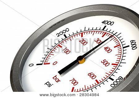 Pressure Gauge 5000 Psi