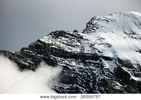 Mitelegi Ridge, Eiger Peak, Berner Oberland, Switzerland - UNESCO Heritage