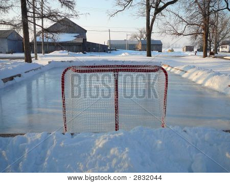 Backyard Ice Rink