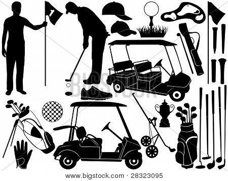 Golf-Satz