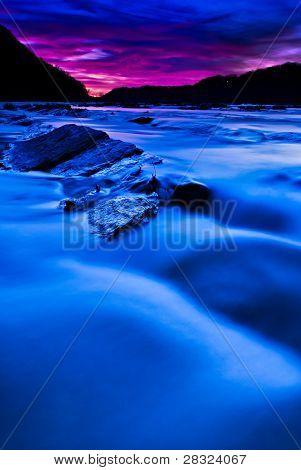 Shenandoah River Sunset...