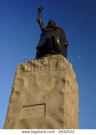 King Alfred In Winchester Uk