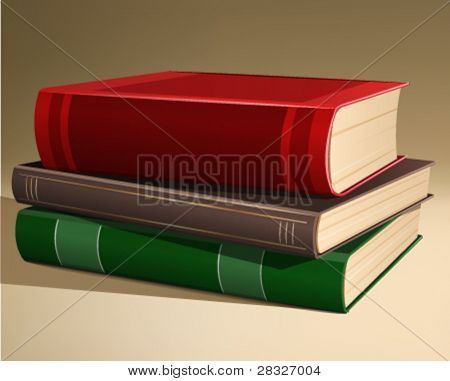 books. Vector Illustration