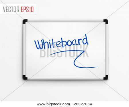 Whiteboard. Vector Illustration