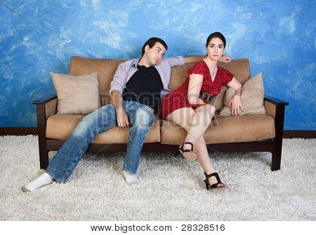 Lady With Boyfriend