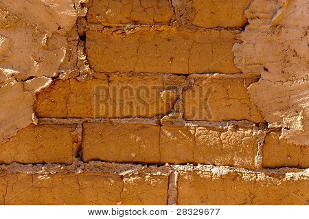 Exposed Brick And Stucco