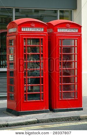 British Public Phone