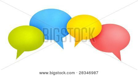 Speech Bubble Communication Concept