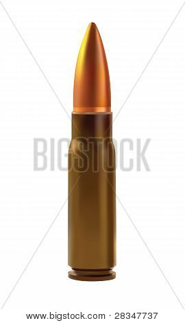 One Cartridges For The Automatic Weapons