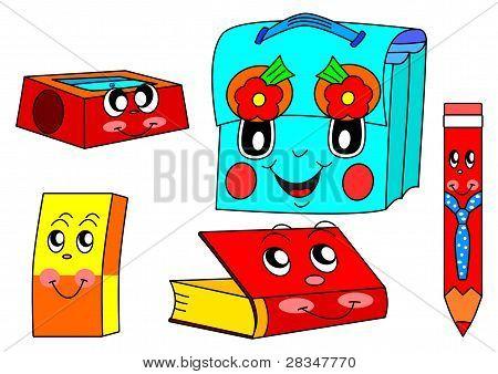 Vectores y fotos en stock de Útiles escolares | Bigstock