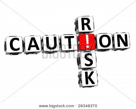 3D Credit Risk Crossword