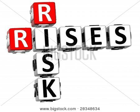 3D Rises Risk Crossword