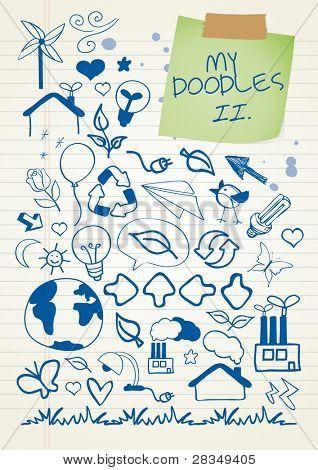 Doodle set 2 - enviroment