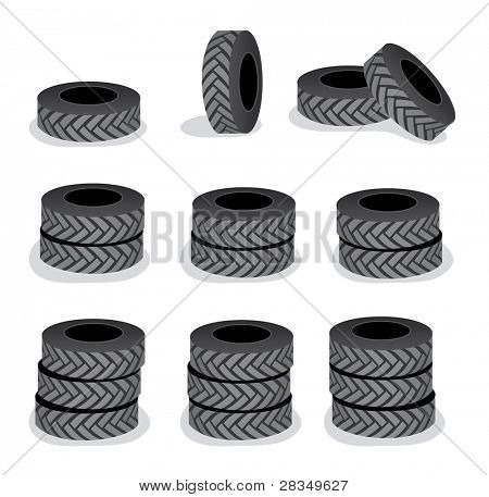 Tires cartoon