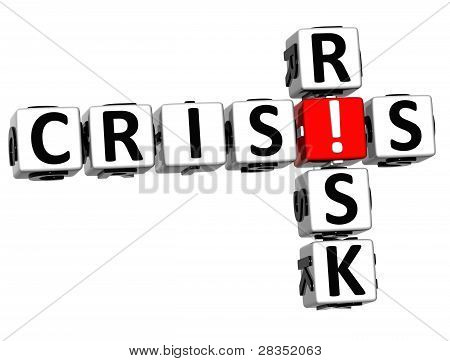 3D Crisis Risk Crossword