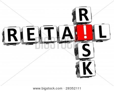 3D Retail Risk Crossword