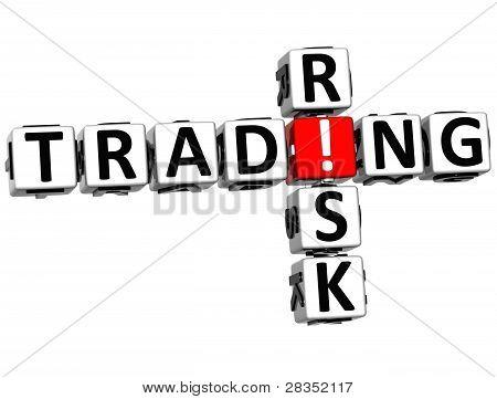 3D Trading Risk Crossword