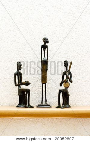 Three African Figurines