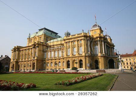 The Croatian National Theatre - Zagreb, Croatia