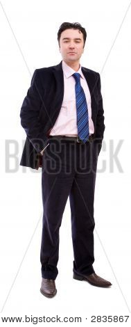 Confidnet Businessman