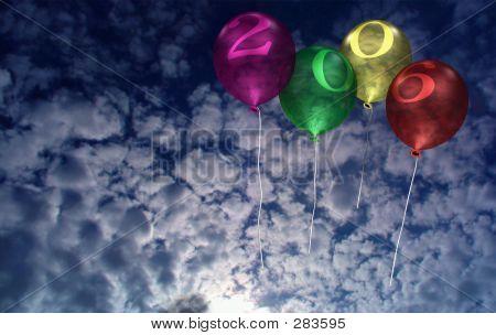 2006 New Year Balloons