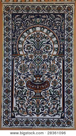 Tunisia traditional arabic ornament, decorative