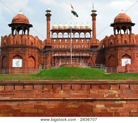 Red Fort New Delhi India