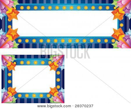 Sample for Advertisement or Happy Shopping Event on white background