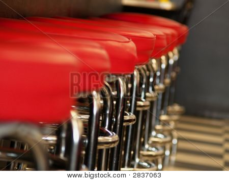 Row Of Barstools