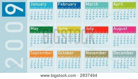 Calendar2009H07