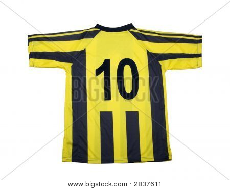 Football   Shirt Clipping Path