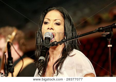 SANTA YNEZ, CA - MAY 30: Sheila E at 'Rhythm on the Vine' charity event to benefit Shriners Children Hospital at the Gainey Vineyard May 30, 2009 in Santa Ynez, California