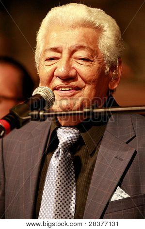 SANTA YNEZ, CA - MAY 30: Pete Escovedo at 'Rhythm on the Vine' charity event to benefit Shriners Children Hospital at the Gainey Vineyard May 30, 2009 in Santa Ynez, California